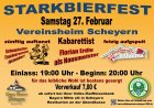 Starkbierfest Scheyern - Bild klicken für Großansicht